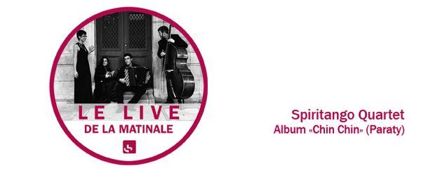 Spiritango Quartet matinale