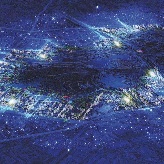 """Le projet """"Central Park"""" du Grand Paris, Roland Castro"""