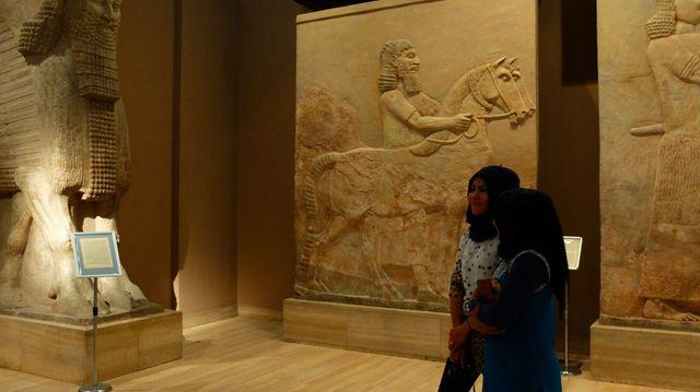 Le musée national d'Irak, à Bagdad