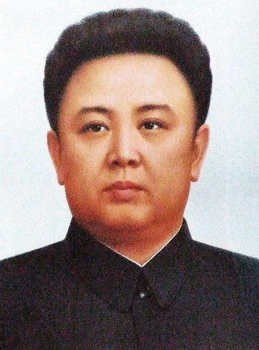 Portrait de Kim Jong Il