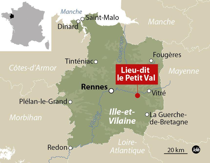 Un TGV Rennes-Paris percute une voiture en Ille-et-Vilaine