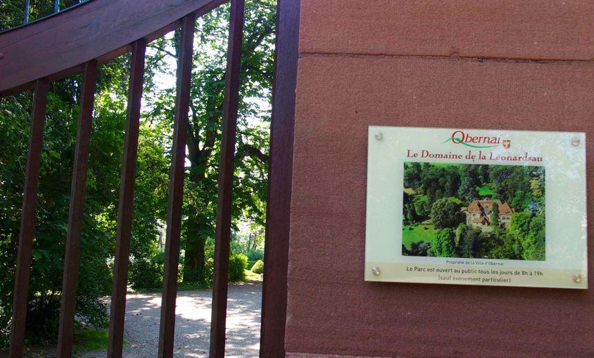 St Léonard, le parc de la Léonadsau