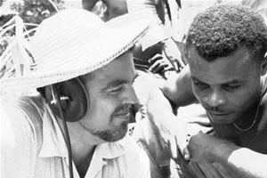 Alan Lomax recording in Dominica, 1962