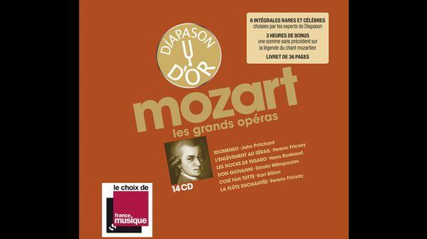 Coffret CD - La Discothèque idéale de Diapason vol. IV :  MOZART les grands opéras !