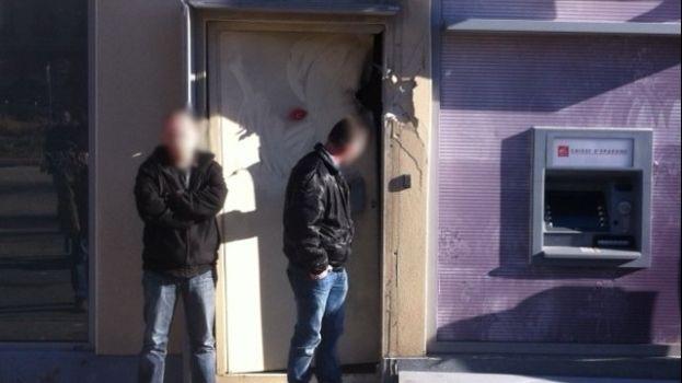Le braquage du DAB avait eu lieu le 23 décembre 2013, quartier Terrenoire à Saint-Étienne