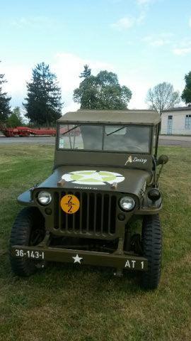 Jeep Willys datant d'octobre 1943, entièrement restaurée pièce par pièce comme a l'origine.