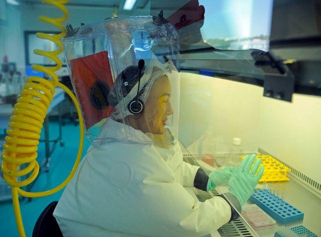 En 2009, le laboratoire P4 travaillait sur le virus H1N1