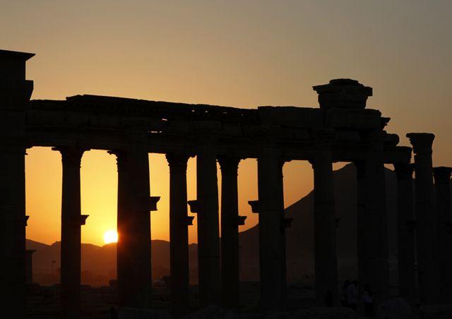 Palmyre est l'un des trésors archéologiques de la Syrie