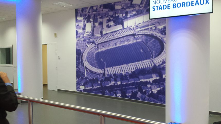 La photo géante du stade Chaban-Delmas