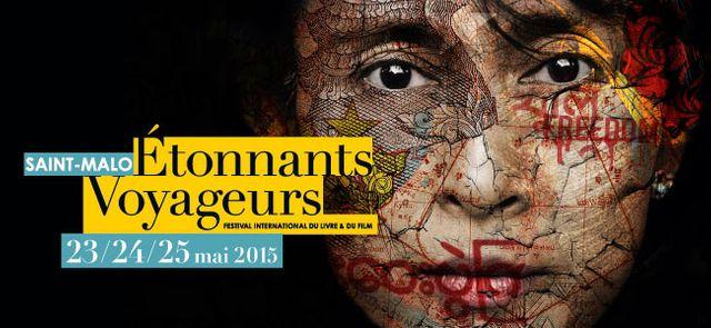 Festival Etonnants Voyageurs 2015 à Saint Malo