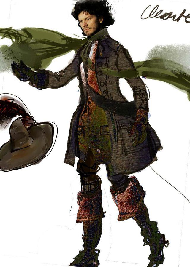 Le Bourgeois gentilhomme, costume de Christian Lacroix