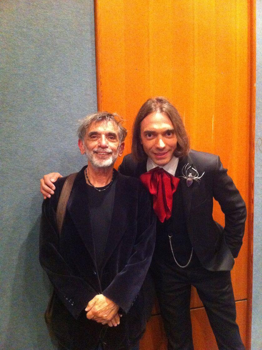 Edmond Baudoin et Cédric Villani