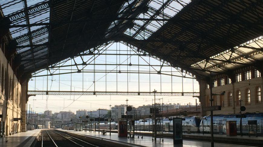 La gare de Marseille Saint-Charles