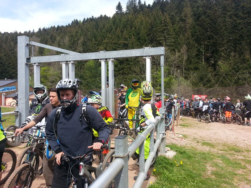 Bike Park Foule