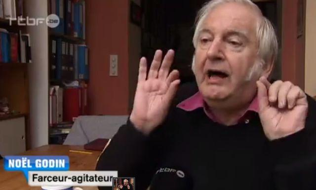 Noël Godin, entarteur professionnel