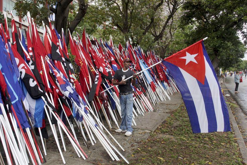 La Havane, le 1er mai 2015 (défilé pour la journée internationale des travailleurs)