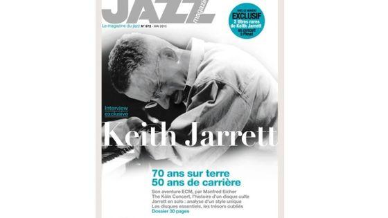 Photo - montage couv Jazz Magazine de mai 2015