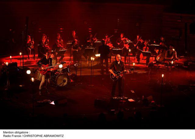 Dominique A concert auditorium 2015