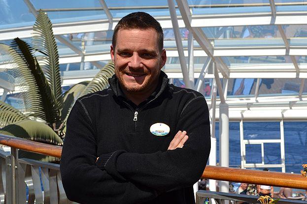 Jérôme Sueur, directeur de croisière sur l'Allure of the Seas