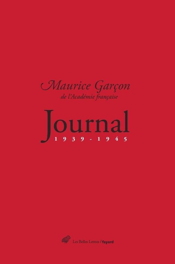 Maurice Garçon-journal 1939-1945