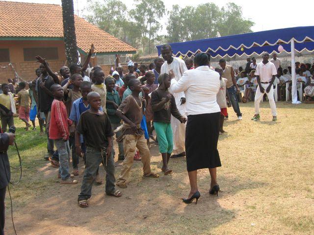 Enfants à Bangui