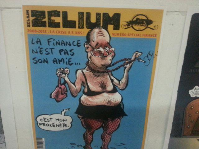 Zélium caricature