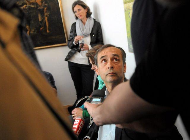 Robert Ménard s'est défendu mardi lors d'une coférence de presse.