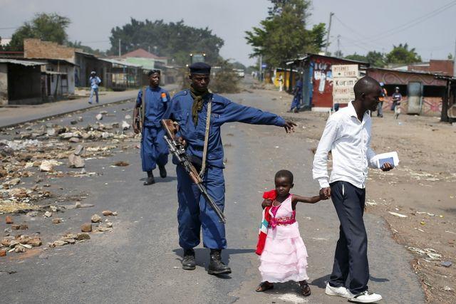 Bujumbura, après une nouvelle amnifesattion contre la décision du Président de briguer un 3e mandat