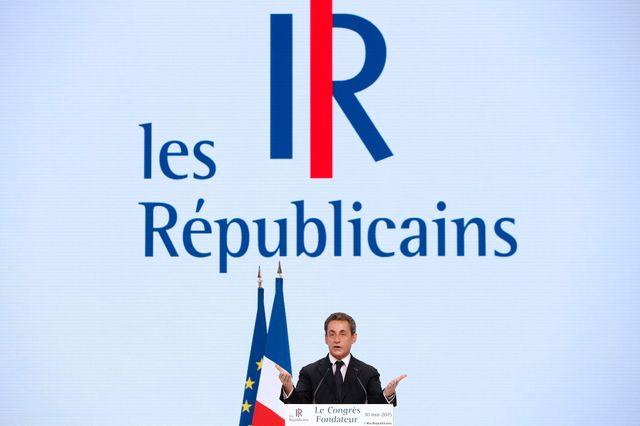 """Nicolas Sarkozy lors du 1er congrès des """"Républicains"""""""