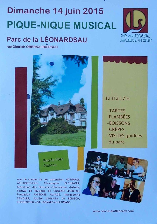 St Léonard, pic nic