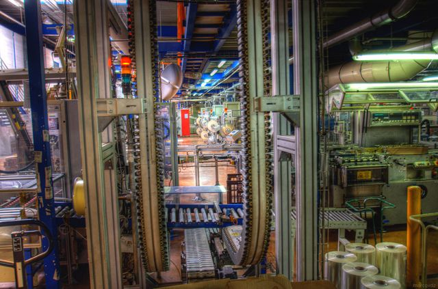 Factory | L'Usine Fralib de Gémenos en 2011
