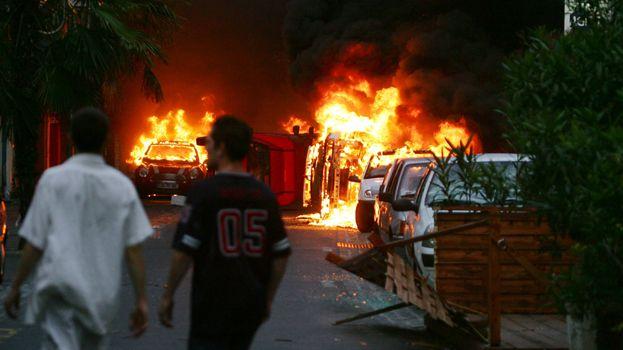 Émeutes à Perpignan le 29 mai 2005