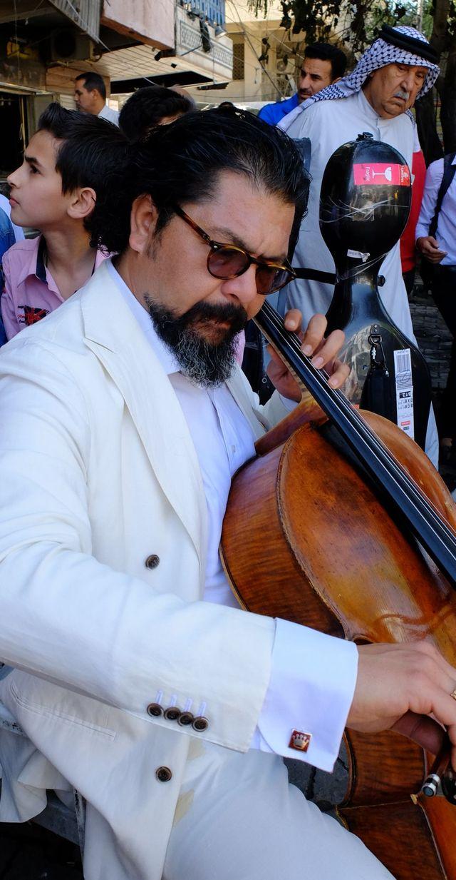 Karim Wasfi le Rostropovitch Irakien