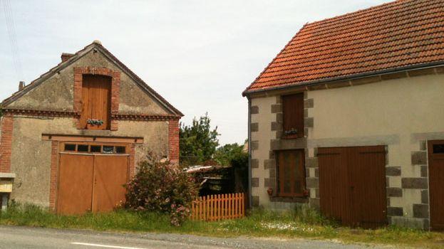 Une des maisons a vendre a la Cellette, un village qui refuse de mourir.