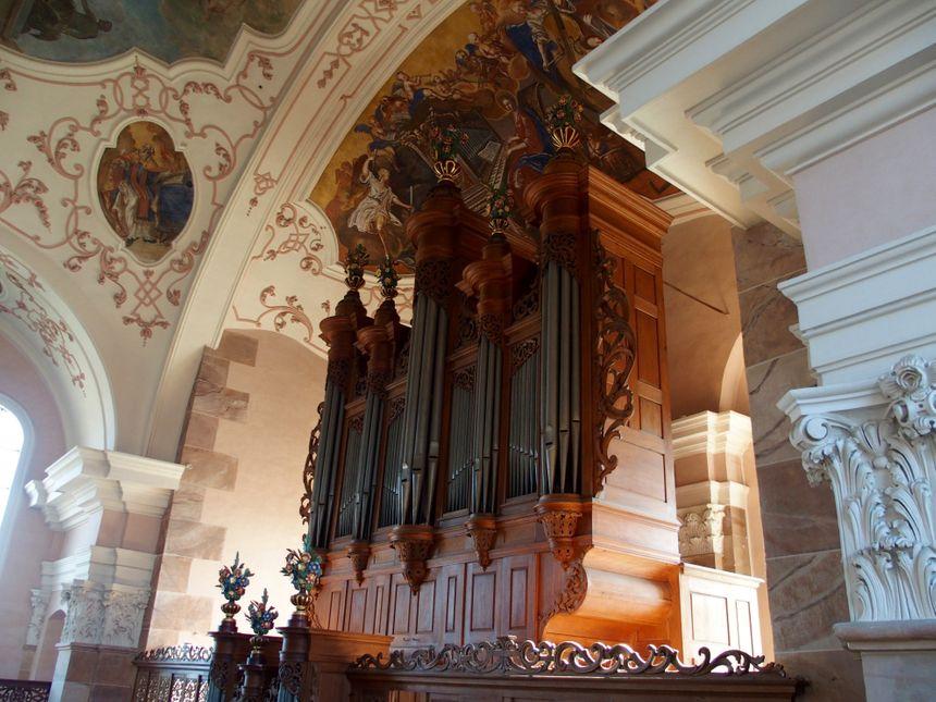 Ebersmunster, l'orgue Silberman