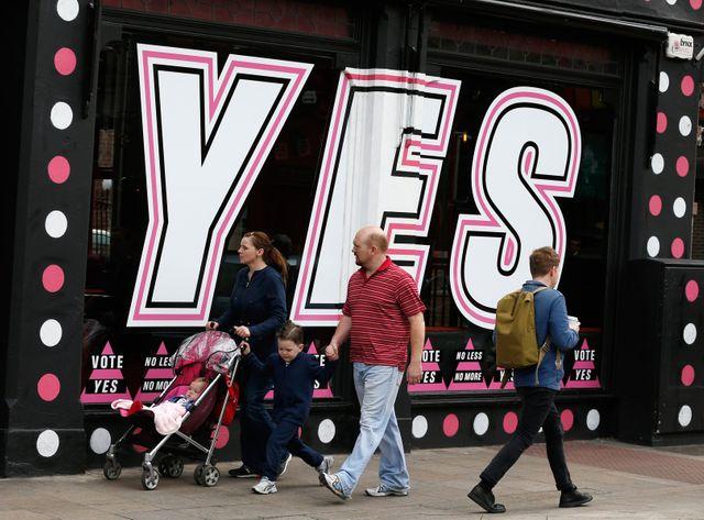 Les Irlandais se sont prononcés en faveur du mariage homosexuel.