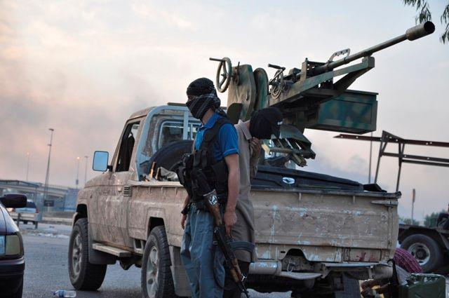 Un combattant de l'Etat islamique à Mossoul