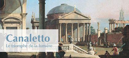 Canaletto, le triomphe de la lumière