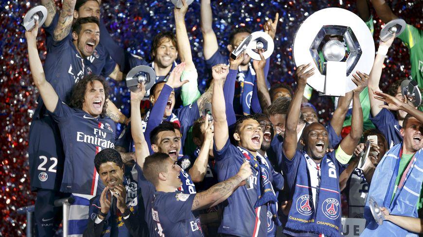 Le PSG a décroché le cinquième titre de champion de France de son histoire
