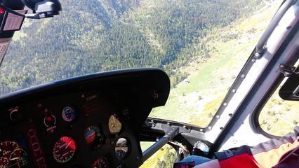 VIDÉO - Le refuge de la Carença approvisionné par hélicoptère