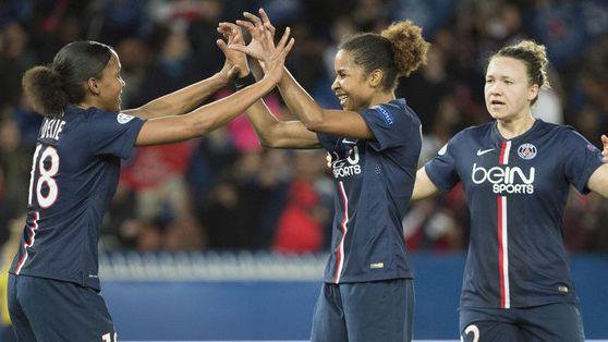 L'équipe féminine du PSG fin prête pour la finale de la Ligue des Champions