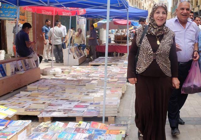 La rue Moutanabi, un temps de paix