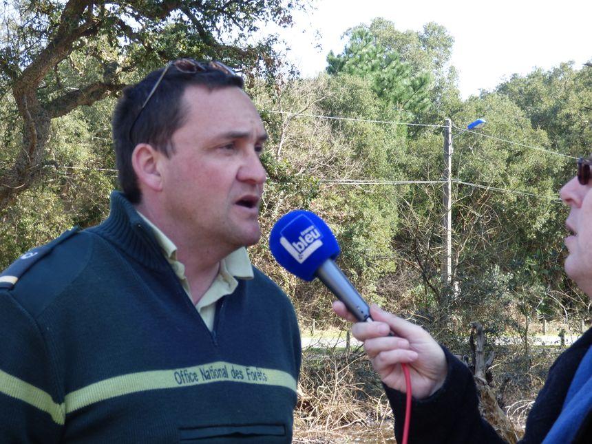 Arnaud Bassibey, Agent ONF en sud landes
