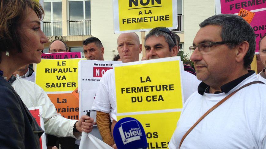 Mobilisation des salariés du CEA