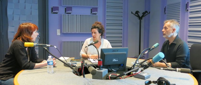 France Culture, studio 153, dimanche 31 mai 2015 ... Désirée Frappier, Aline Pailler & Alain Frappier