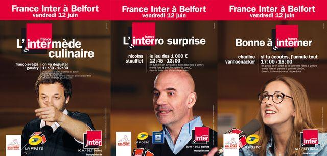 France Inter à Belfort