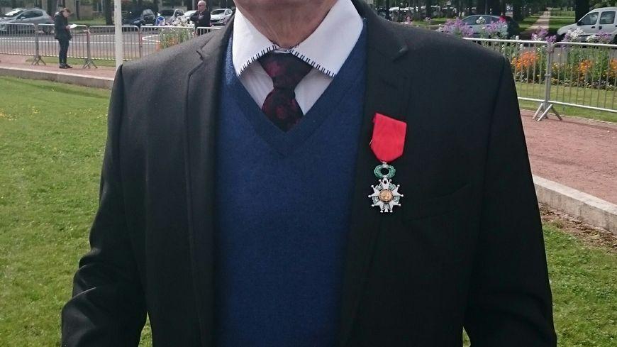 Marcel Damervalle, ancien combattant décoré de la Légion d'Honneur