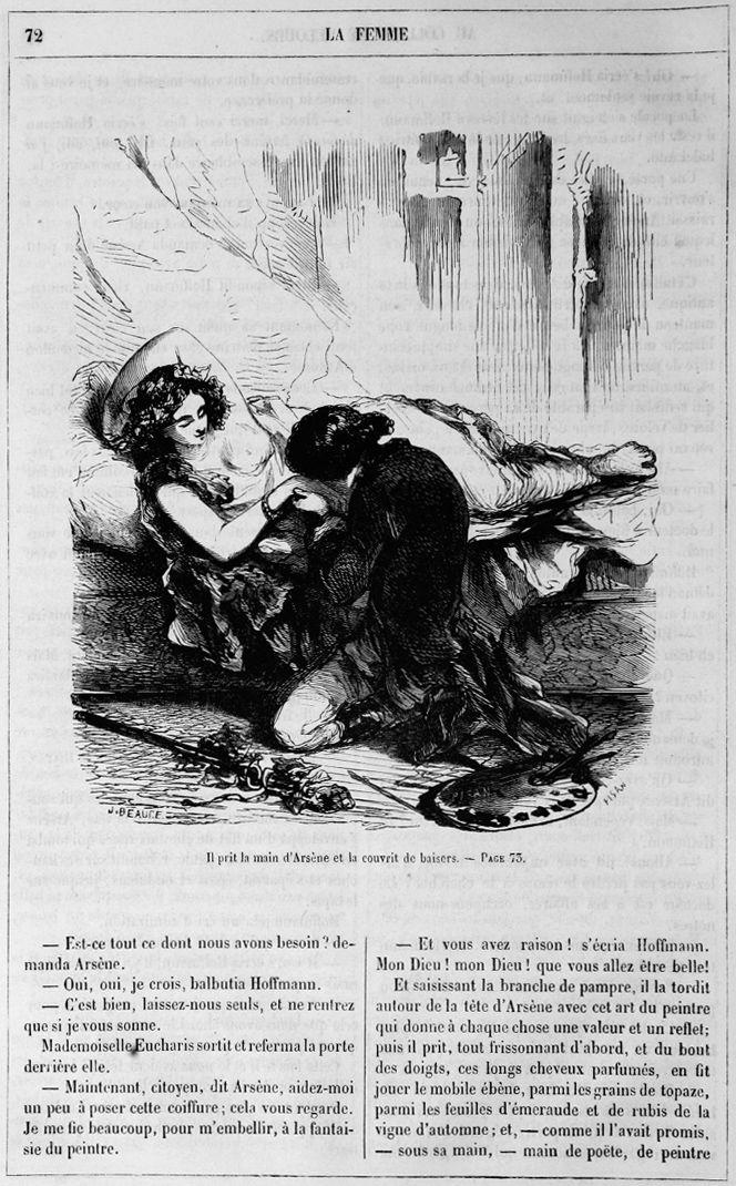 la femme au collier de velour