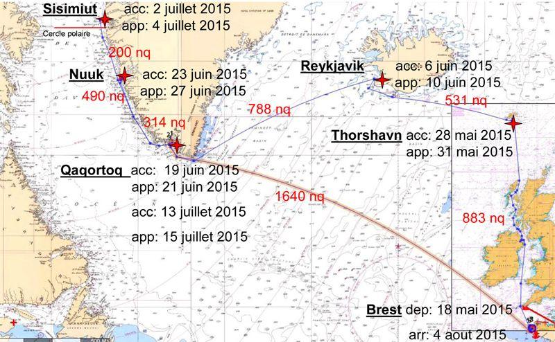 Le voyage de l'Etoile au Groenland