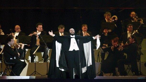 Luciano Pavarotti, cérémonie d'ouverture des Jeux Olympiques d'hiver 2006
